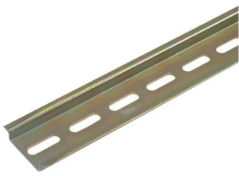 Hutschiene, gelocht, 7,5mm
