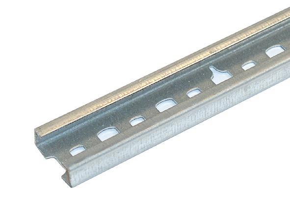 C-Profilschiene, gelocht, 11 mm