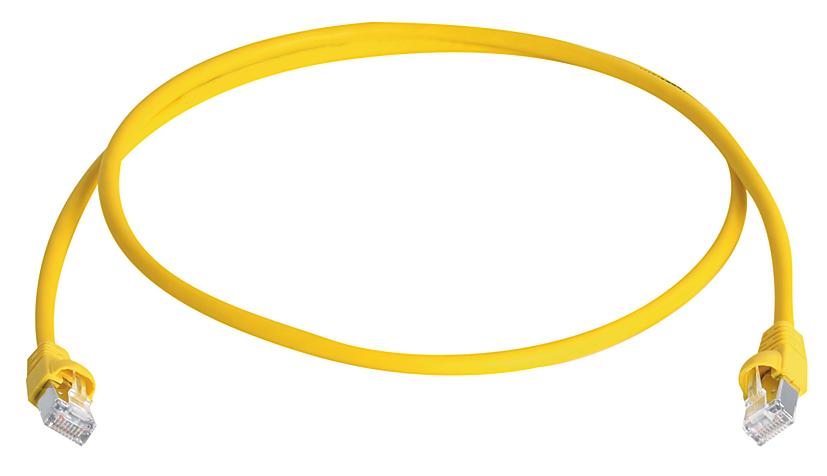 Patchkabel, gelb