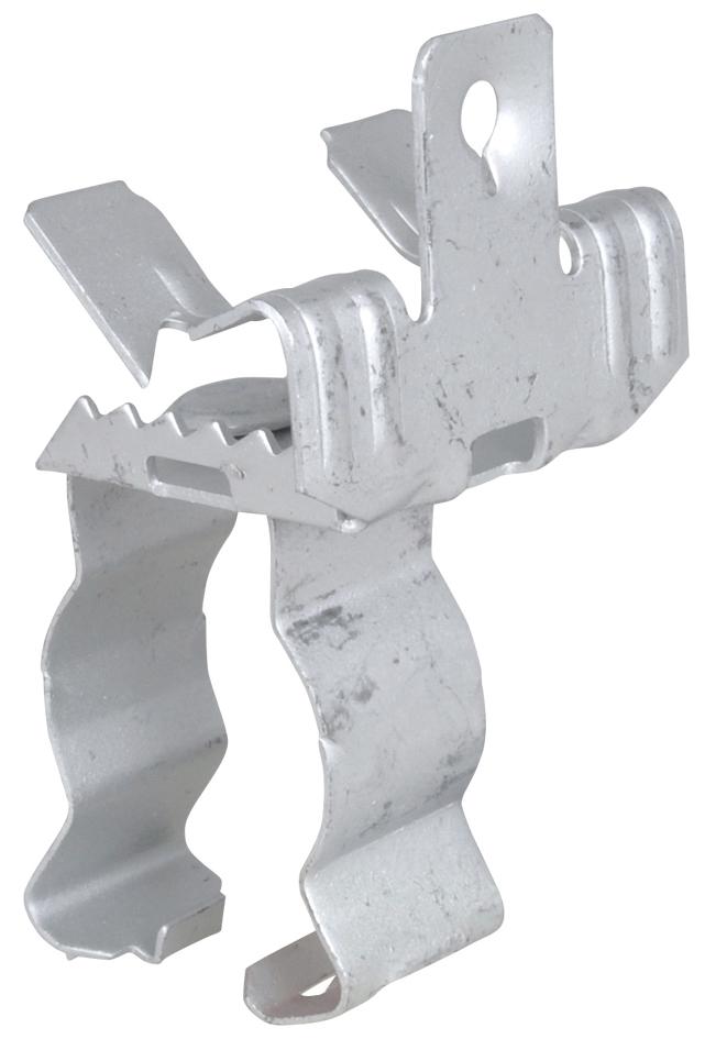 Trägerklammer, m. Kabelclip
