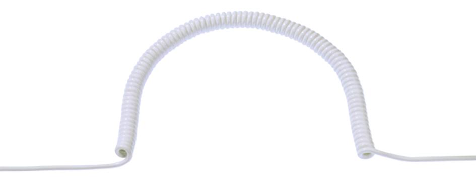 Spiralleitung, offene Enden