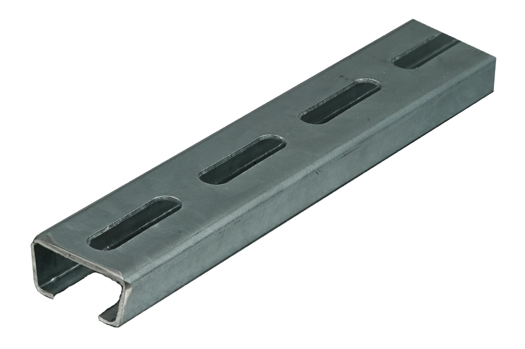 C-Profilschiene, gelocht 16,5 mm