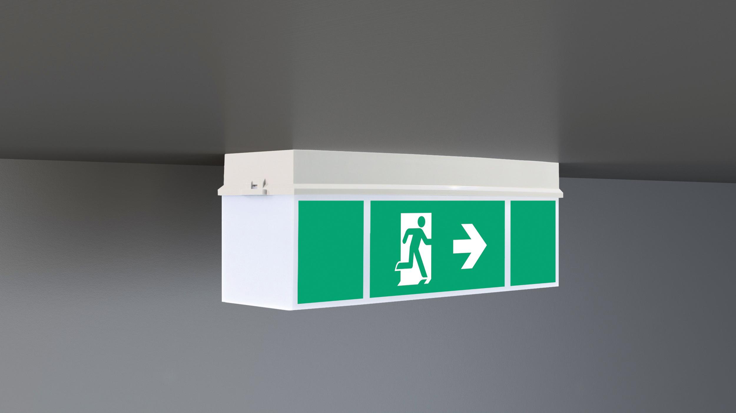 LED-Sicherheitsleuchte
